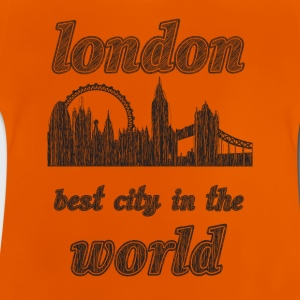 London Beste by i verden - Baby-T-skjorte