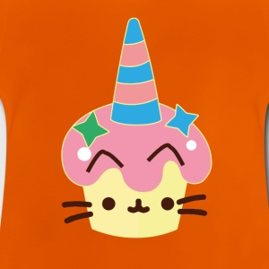 Unicorn cupcake cat - Baby T-Shirt