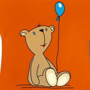 Teddy Bear Balloon cuddly children's toys - Baby T-Shirt