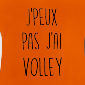 Jeg kan jeg ikke have volleyball - Baby T-shirt