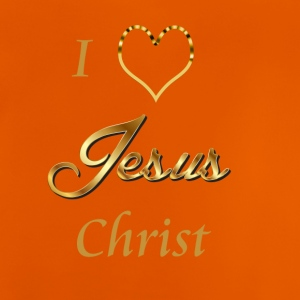 I love Jesus- Christ Shirt and baby items - Baby T-Shirt