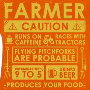 Farmer: Caution! - Baby T-Shirt