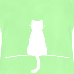 Sitting Cat - Baby T-Shirt
