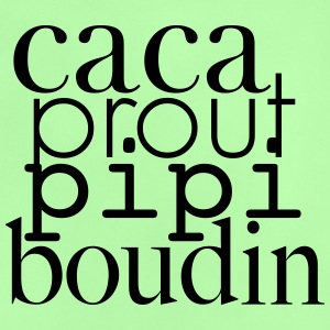 caca prout coil pee - Baby T-shirt