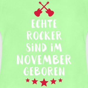 Sanna rockers föds i november - Baby-T-shirt
