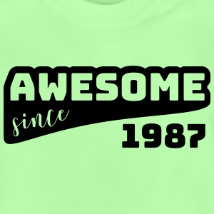 Awesome siden 1987 / Fødselsdag-Shirt - Baby T-shirt