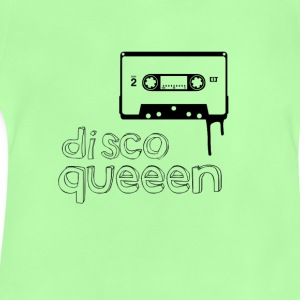 disco queen Music cassette 80s Retro Girl dancing - Baby T-Shirt