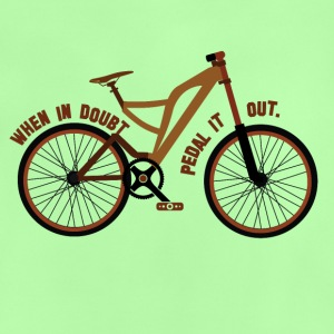 Pedal the Doubt out - Bicycle Passion! - Baby T-Shirt
