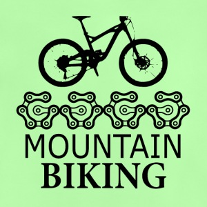 Mountain bike Gears - l'amore per la mountain bike - Maglietta per neonato