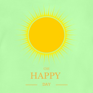 soleil de yoga t-shirt Oh Happy Day - T-shirt Bébé