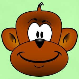 Cute Monkey Chimpanzee Monkey - Baby T-Shirt