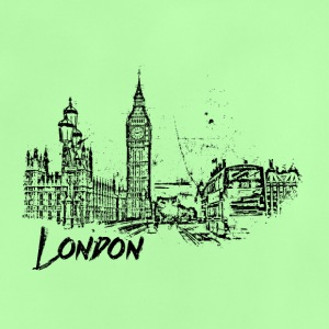 London Cityscape schets - Baby T-shirt