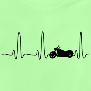 EKG HERLINIE BIKE schwarz - Baby T-Shirt