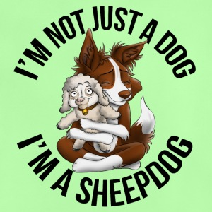 I'm a Sheepdog - Red - Baby T-Shirt