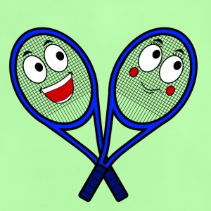 Söt tennisracketar - Baby-T-shirt