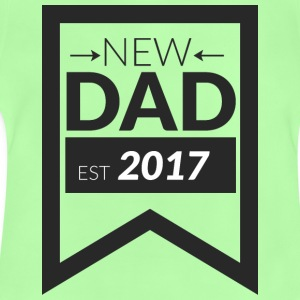 NEW DAD 2017 - Baby-T-shirt