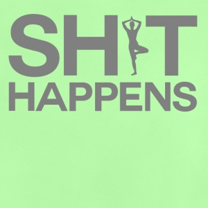 Shit Happens - Yoga - Baby T-shirt