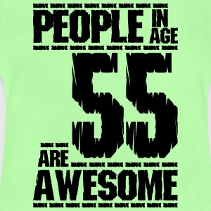 PEOPLE IN AGE 55 ARE AWESOME - Baby T-Shirt