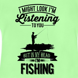 misschien-look-like-I --- m-listening-to-u-maar-in-my-h - Baby T-shirt
