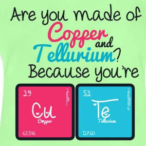 Youre Cute - Copper - Tellurium CUTE! - Baby T-Shirt