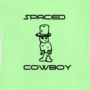 Spaced Cowboy Funny and cool - Baby T-Shirt