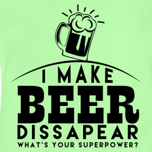 I let beer disappear - Baby T-Shirt
