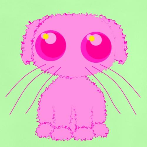 lurvig neonrosa kawaii anime doodle hund - Baby T-Shirt