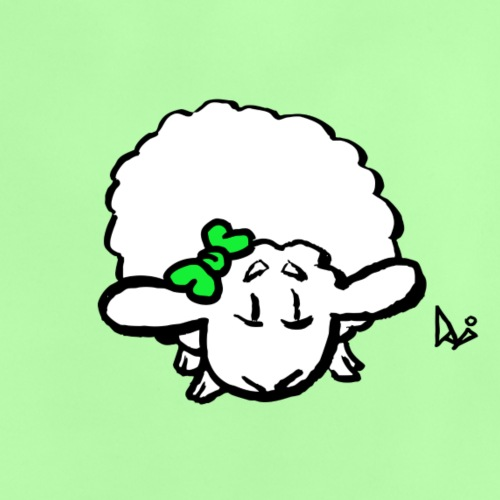Babylam (grøn) - Baby T-shirt