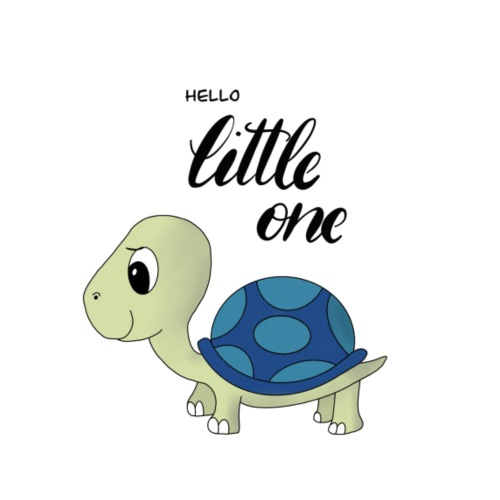 Little Turtle - Baby T-Shirt