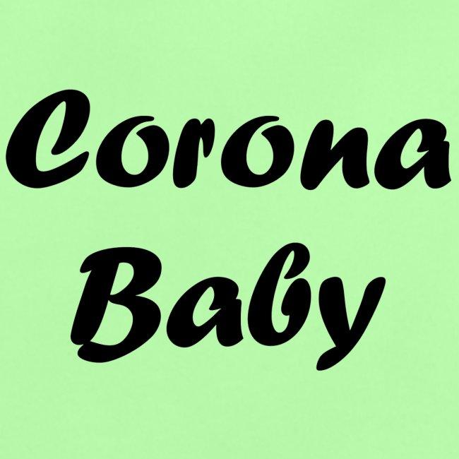 Corona baby merchandise black