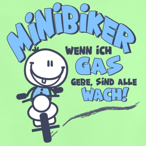Minibiker Boy - Baby T-Shirt