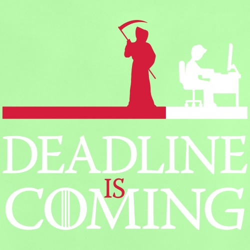 deadline is coming - Baby T-Shirt