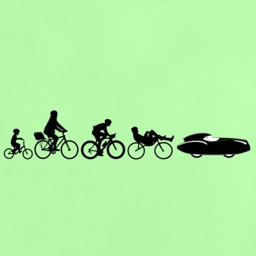 Bicycle evolution black Quattrovelo - Vauvan t-paita