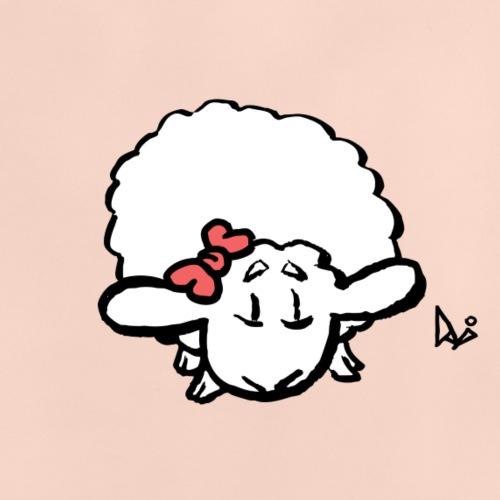 Baby Lamb (różowy) - Koszulka niemowlęca