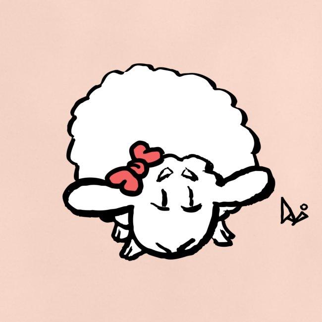 Cordero bebé (rosa)