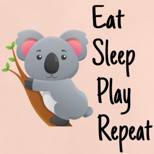 Eat Sleep Play Repeat - Baby T-Shirt