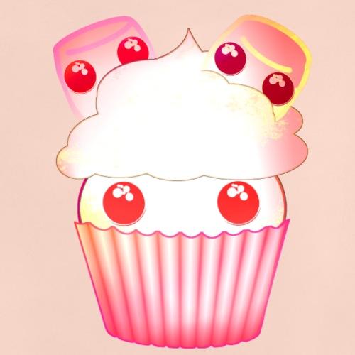 harajuku kawaii cupcake muffins med marshmallows - Baby T-Shirt