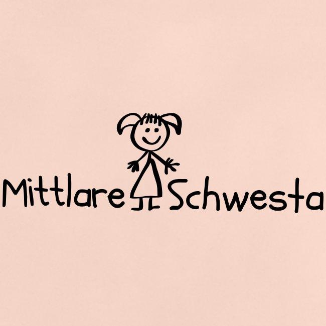 Vorschau: Mittlare Schwesta - Baby T-Shirt