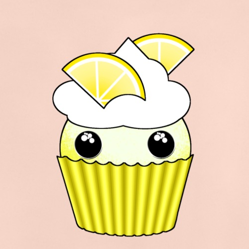 Kawaii lemon cupcake - Baby T-Shirt