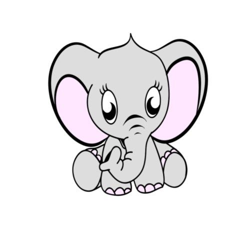Baby olifantje - Baby T-shirt