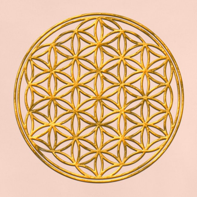 Flower of life GOLD 2