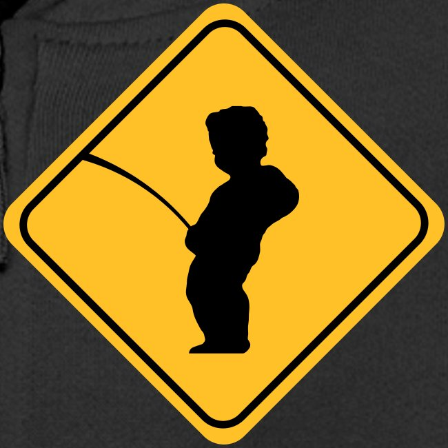 Manneken Pis sign