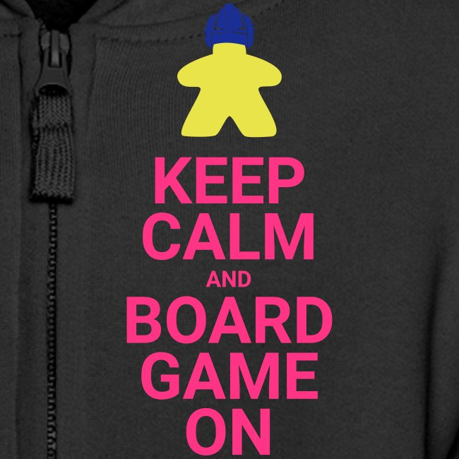 Keep calm and boardgame on