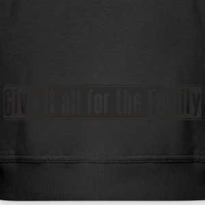 Give_it_all_for_the_Family projekt - Rozpinana bluza dziecięca z kapturem Premium
