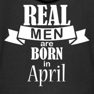 Real men are born in April - Kinder Premium Kapuzenjacke