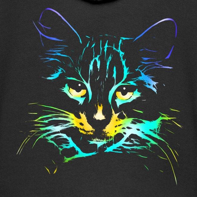 Vorschau: color kitty - Kinder Premium Kapuzenjacke