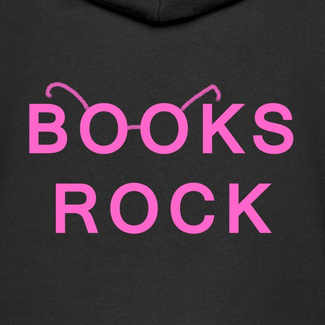 Books Rock Pink
