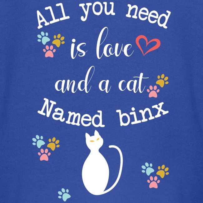 All you need is love and a cat named binx