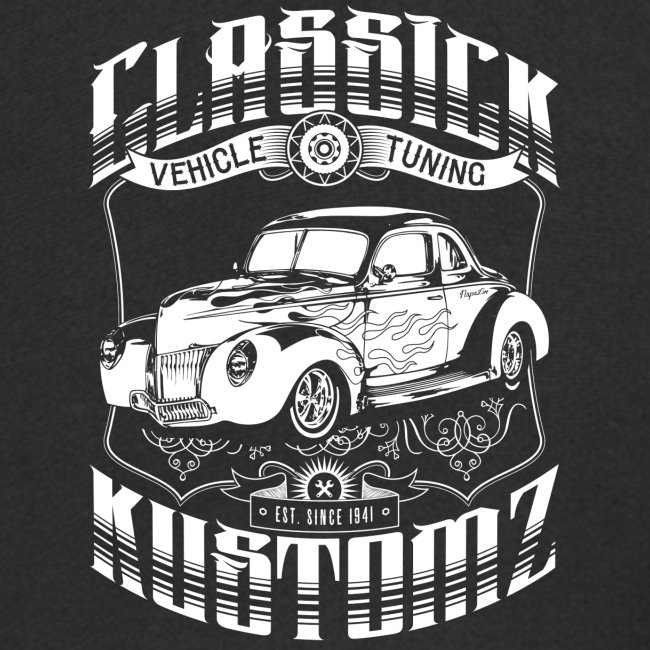 Hot Rod - Classick Kustomz (white)