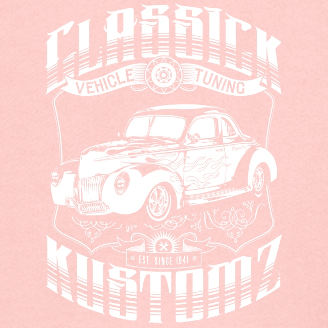 Hot Rod - Classick Kustomz (white)